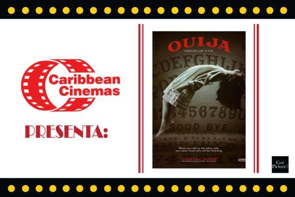 Caribbean Cinemas Presenta: OUIJA