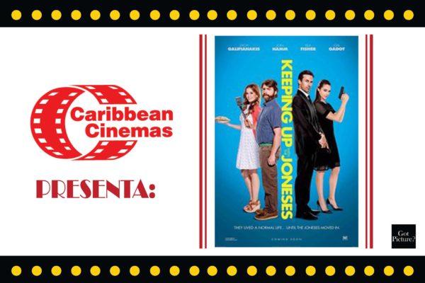 Caribbean Cinemas Presenta: Espiando los vecinos