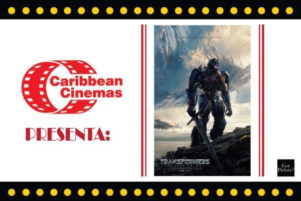 CARIBBEAN CINEMAS PRESENTA: TRANSFORMERS: EL ÚLTIMO CABALLERO