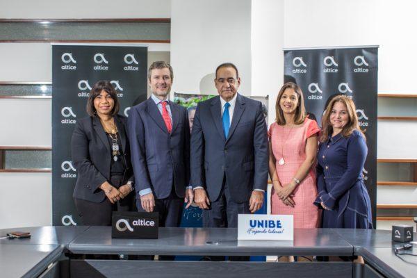Altice Dominicana realiza acuerdo con UNIBE