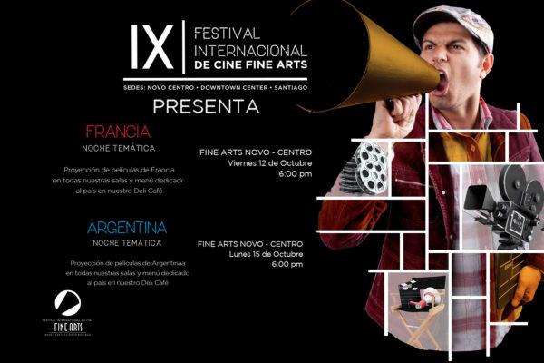 ACTIVIDADES PARA TODOS LOS GUSTOS EN LA NOVENA EDICIÓN DEL FESTIVAL INTERNACIONAL DE CINE FINE ARTS