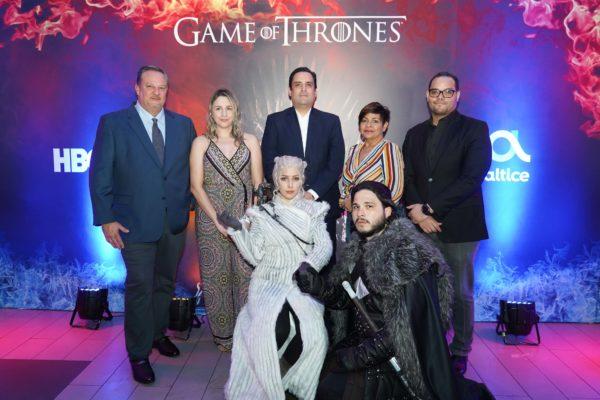 Altice y HBO llevan a sus clientes a un exclusivo Viewing Party de Game of Thrones