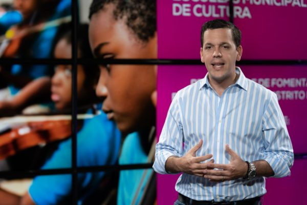 Hugo Beras: Distrito Nacional necesita Escuelas Municipales de Arte y la recuperación de los espacios públicos polivalentes