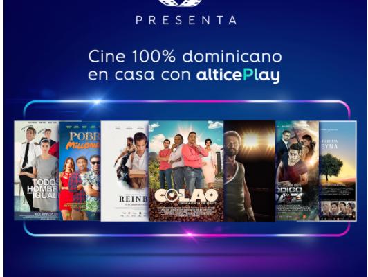 CARIBBEAN CINEMAS LANZA LO MEJOR DEL CINE DOMINICANO EN PLATAFORMA DIGITAL ALTICE PLAY